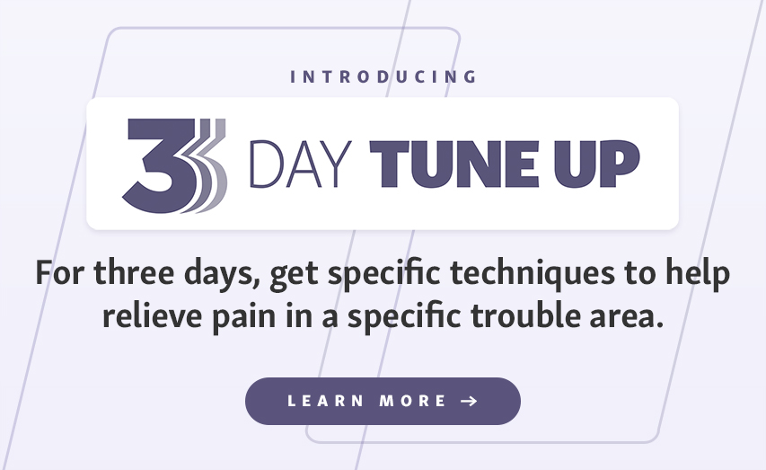 Experience Living Better in your Body with the 3-Day Tune Up
