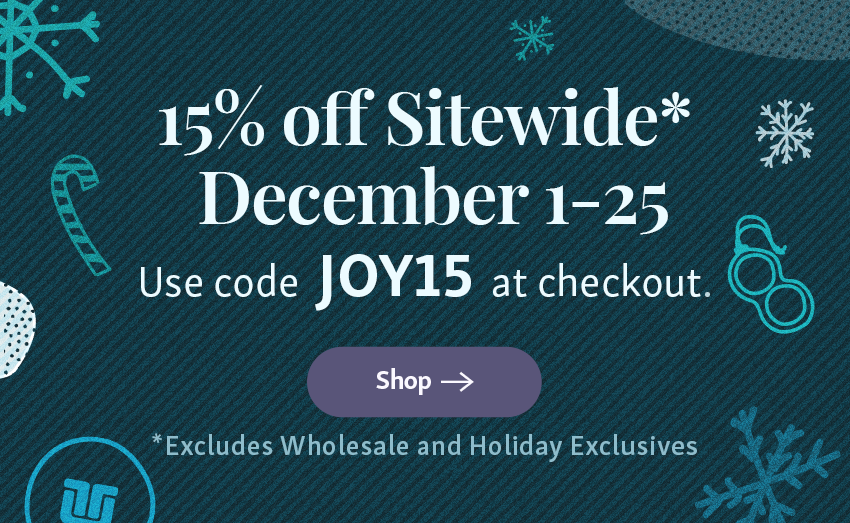 Take 15% off Sitewide