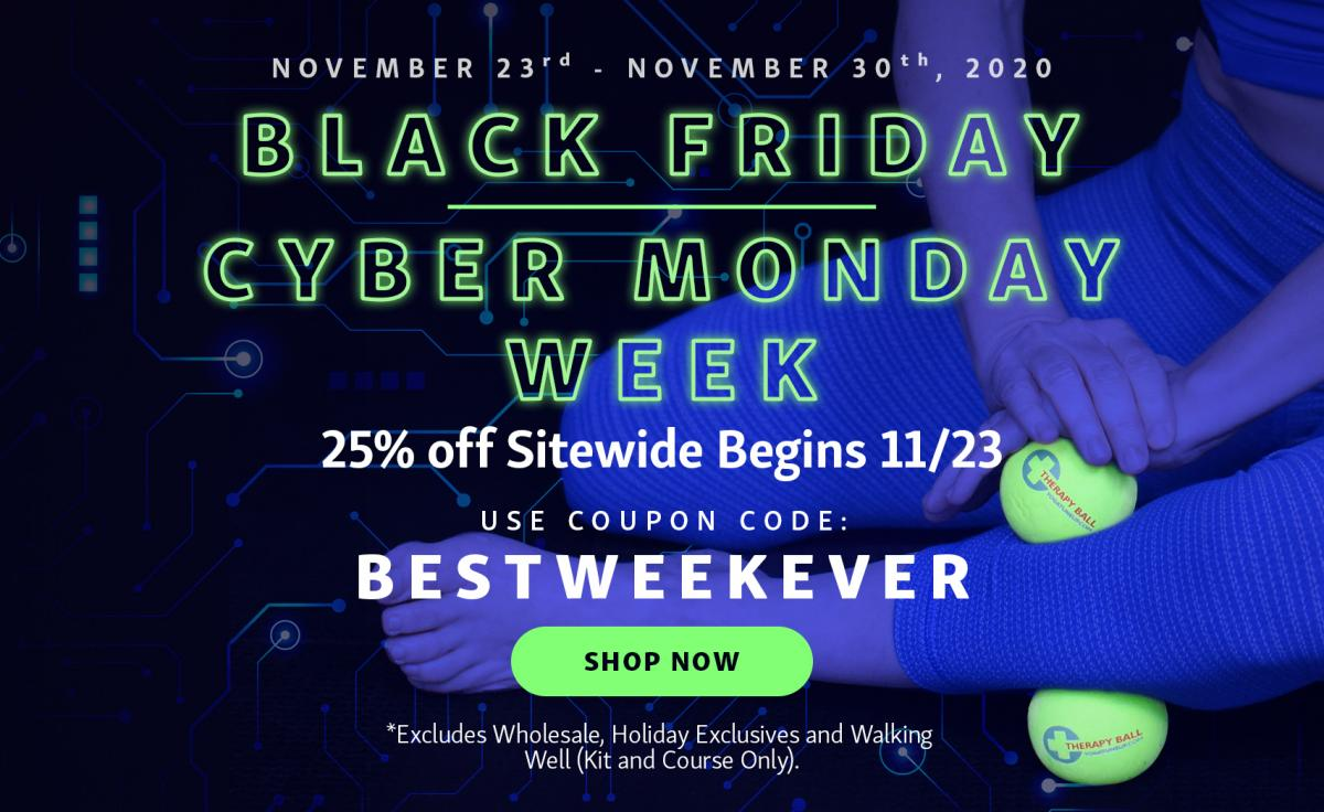 Black Friday/Cyber Monday Week Sale