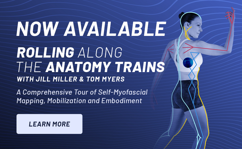 Rolling Along the Anatomy Trains with Jill Miller & Tom Myers