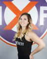 Karolyne LaFortune, owner of Iron X Fitness, a pole dance for fitness studio in Ottawa, Ontario