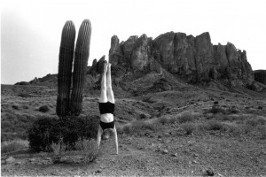 When practiced correctly, inversions can quiet a chattering mind.