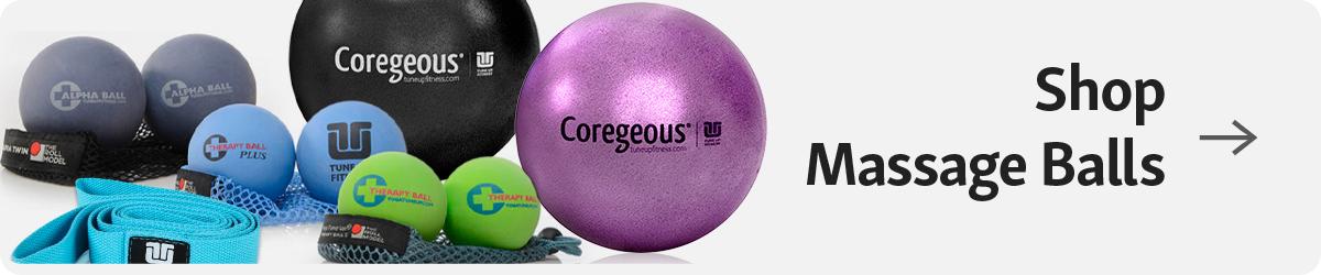 Button Caption: Shot Massage Balls on Tune Up Fitness