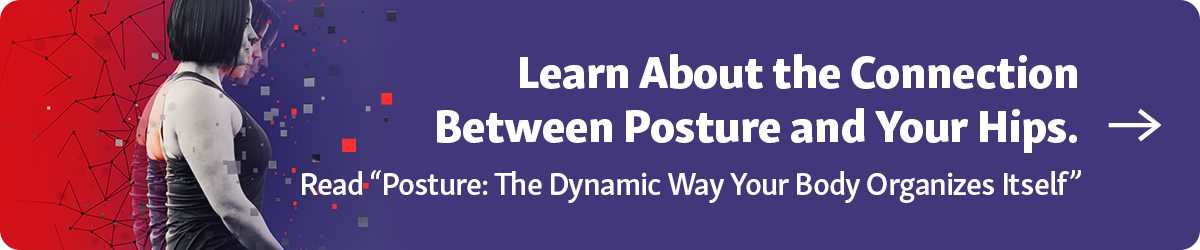 """Learn about the Connection Between Posture and Your Hips in our article """"Posture: The Dynamic Way Your Body Organizes Itself"""""""