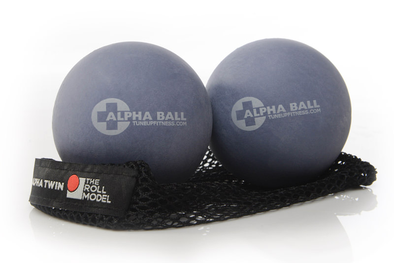 Yoga Tune Up Alpha Ball Twin Set in Tote